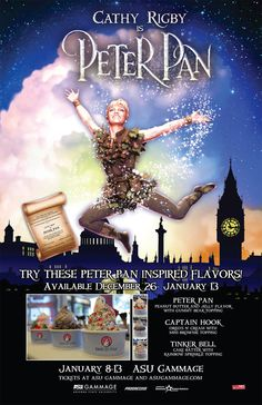 Try out the custom Peter Pan flavors at Tasti D Lite in Chandler!