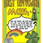 Use this quick and easy-to-prepare math game on St. Patrick's Day to help students practice multi-step math problems.  Students choose a digit card...