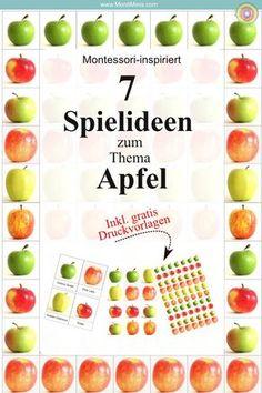 Die 91 Besten Bilder Von Thema Apfel Day Care Preschool Und Apples