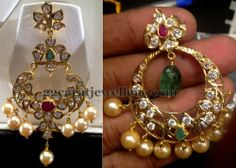 Jewellery Designs: Pachi Chandbalis 16 Grams