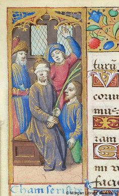 Book of Hours, MS H.5 fol. 53v - Images from Medieval and Renaissance Manuscripts - The Morgan Library & Museum
