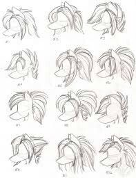 How to draw furry hair