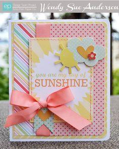Sunshine Card from The Best of Friends Mini Theme. #echoparkpaper