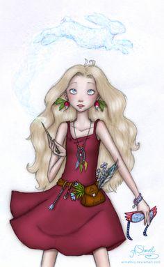 ...Luna Lovegood... by ArinaFoxy.deviantart.com on @deviantART