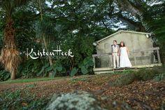 Hale Molii wedding backdrop at Kualoa Ranch, Oahu, Hawaii. Pic ©Kristen Hook Photography