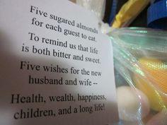 The bomboniere! Italian wedding favor