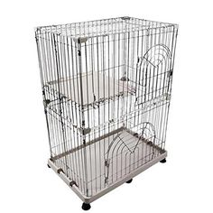 IRIS 3-Tier Wire Cat Cage >>> Want to know more, click on the image. (This is an Amazon affiliate link)