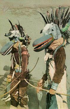 Hopi Shooyokos Katchinas, Arizona