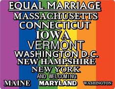 It is a bright new morning in America for marriage equality.