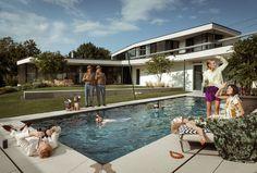 Familie Bohnenbaum, Kontaktaufnahme — Kramer and kramer Living Divani, Greenery, Architecture, Outdoor Decor, Garden, Design, The Great Outdoors, Alone, Planting