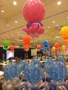 #big #balloon #centerpiece #ballooncenterpiece #balloonideas #balloondecoration #heliumballoon #bestballoons #tadayballoon #partyballoon