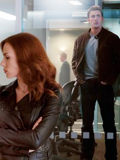 Romanogers, them both hating being separated by the glass in this scene was perfect.