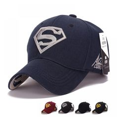 2017 Gorras Superman Cap Casquette Superman Baseball Cap Men Brand Women Bone Diamond Snapback For Adult Trucker Hat Summer Cap, Spring Summer, Bodybuilding, Base Ball, Superman Logo, Cool Hats, Mens Caps, Snapback Cap, Clarks