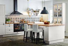 Sala-cozinha. #cozinha #decoração #ikeaportugal