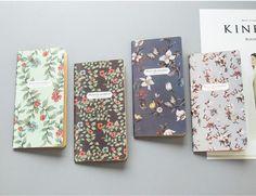 Flower Vintage Travel Note Insert/Notebook Refill for Traveler's Notebook, Kraft Notebook, Midori Planner Insert, Paper Refill for Midori by GinkoSupplies on Etsy