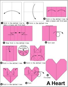 Origami Simple Heart