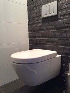 How to Create Bathroom that Fit Best Toilet Closet - Home of Pondo - Home Design Small Toilet Room, Guest Toilet, Downstairs Toilet, New Toilet, Toilet Closet, Bathroom Closet, Toilet Design, Design Bathroom, Interior House Colors