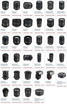 The new Nikon instant discounts for September now include 30 different lenses - Camera, Acmera accessories, and so on Famous Photography, Photography Hashtags, Dslr Photography Tips, Photography Lessons, Photography Equipment, Photography Tutorials, Digital Photography, Photography Studios, Landscape Photography