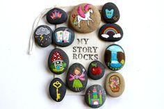 Geschichte Steine und gemalte Felsen / Fee und von Thrive360Living Mehr
