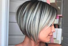 Let's spice up your bob haircut with layers! We have so many fantastic layered bob hairstyles to choose from right here. This post 32 Layered Bob Hairstyles and New Ways Of Adding Layers, was originally published at Latest Hairstyles Concave Bob Hairstyles, Modern Bob Hairstyles, Layered Bob Hairstyles, Bob Hairstyles For Fine Hair, Chic Hairstyles, Hairstyle Ideas, Braided Hairstyles, Wedding Hairstyles, Style Hairstyle