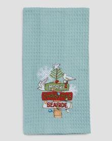 Seaside Holiday Decorative Hand Towel