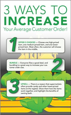3 Ways To Increase Your Average Customer Order #directsales #increasesales