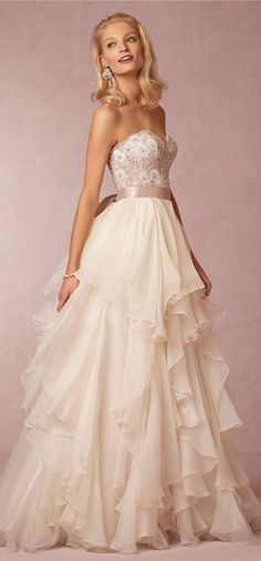 princess wedding dress, by BHLDN