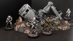 Mundo Geek, Tank Armor, Star Wars Models, Star Wars Merchandise, Dark Star, Comic Games, Clone Trooper, Game Pieces, War Paint