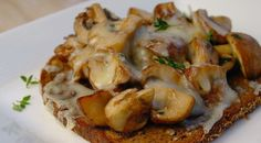Broodje paddenstoelen uit de oven - Lovemyfood.nl