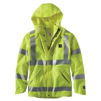 Stop worrying about heavy rainfall just by wearing this amazing Carhartt Men's Tall Large Tall Brite Lime Polyester HV Class 3 Wp Rain Jacket. Lightweight Waterproof Jacket, Mens Rain Jacket, Style Snaps, Mens Xl, Work Wear, Windbreaker, Medium, Jackets