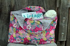 The Big Tote Bag Pattern from Autumn Street Pattern Shop made by 2 little hooligans