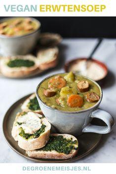 Lentil Soup Recipes, Easy Soup Recipes, Raw Food Recipes, Veggie Recipes, Healthy Recipes, Healthy Food, Vegetarian Soup, Vegan Soups, Vegetarian Recipes