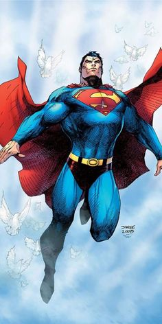 DC comics for November this is the cover for Superman: For Tomorrow Anniversary Deluxe Edition, drawn by Jim Lee. Jim Lee Superman, Superman Art, Batman, Superman Images, Superhero Superman, Superman Stuff, Arte Dc Comics, Marvel Comics, Ms Marvel