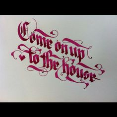 dannyfox @Danny Fox #lettering #calligraphy #ink