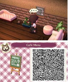 QR code / really good for cafe or baker house/