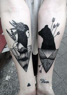 bear old school tattoo - Google Search