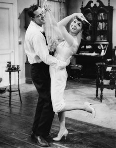 """Mariette Larkin (Debbie Reynolds): """"I'll bet you made the doctor show his license before he slapped your bottom!"""" -- from The Mating Game (1959) directed by George Marshall"""