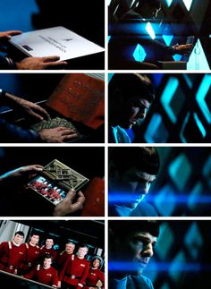 Star Trek Beyond | Spock Love love love the fact that they are paying Hommage to the originals