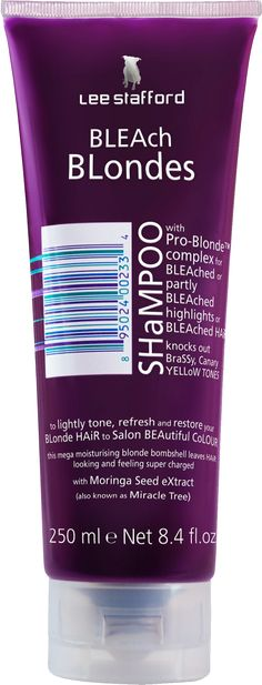 BLEAch BLondes SHaMPOO: 6/10: gets rid of brassiness, but it leaves more of a pink hue to your hair instead of purple if you leave it in long enough #silverhair #grannyhair