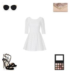 """""""Untitled #3159"""" by webbgyrl2000 ❤ liked on Polyvore featuring Una-Home, Lilly Pulitzer, Jimmy Choo and ALDO"""