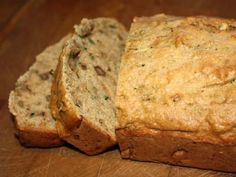 I was looking for a zucchini bread recipe with less fat than the traditional as we have lots fresh from NC this week. I am going to try this one, replacing the regular white sugar with maple syrup.