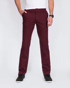RV Tall Mens Chinos (burgundy)