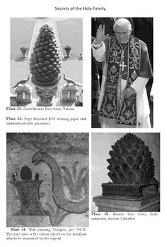 Illuminati Signs & Symbols Around Us - Pine Cone Ancient Mysteries, Ancient Artifacts, Thule Society, Pineal Gland, Aliens And Ufos, Black History Facts, Religious Art, Sacred Geometry, Chakra Meditation