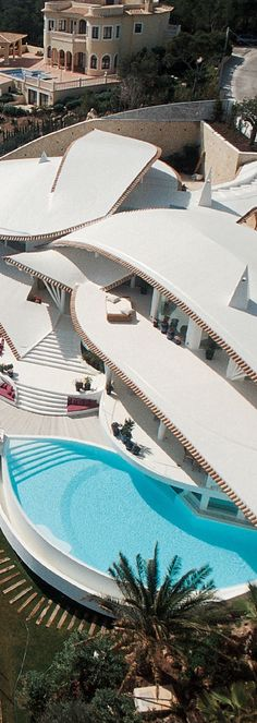Pools can be placed with any design.