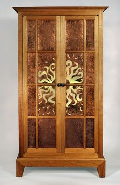 Rising Sun cabinet by Yeager Woodworking