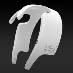 Melomind, a head-worn gadget from French company myBrain Technologies, purports to measure your brain waves and adjust music on a smartphone app as they change.