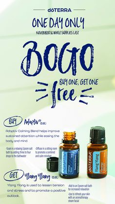 Grab this BOGO Today-message me and I can help you! my.doterra.com/womenshealth