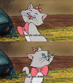 Marie is my favorite Aristocat