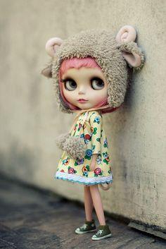 my little sheep :o) by Nina =^^=, via Flickr