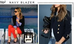 Marcus Design: {5 fashion trends for fall} Navy Blazer